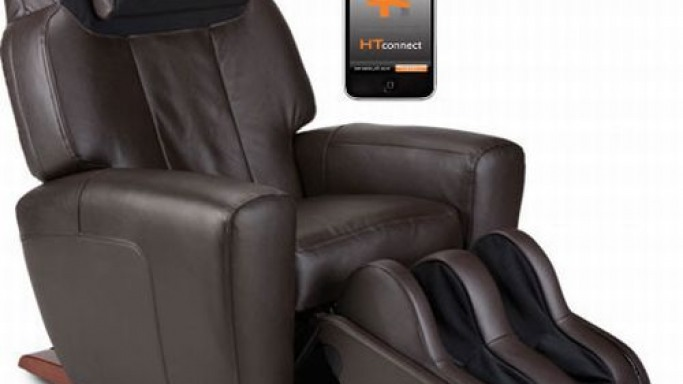 Human Touch® unveils iPhone/iPod touch controlled massage chair