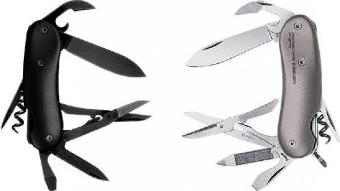Wenger's Porsche Design Knives for the style conscious