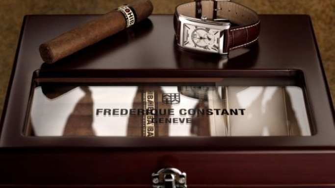 Frederique Constant for Cohiba limited edition timepieces