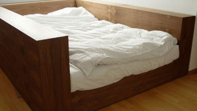 Behold the quake-proof bed!