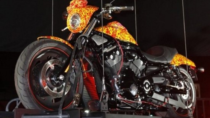 Update: Jack Armstrong's million dollar Harley unveiled