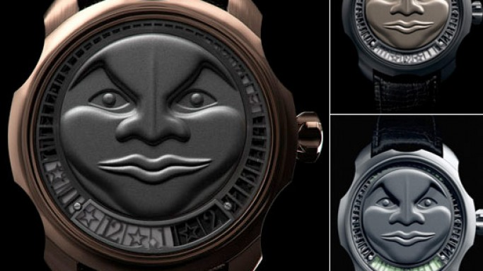 Catch the moon with Sarpaneva Korona's Moonshine Watch