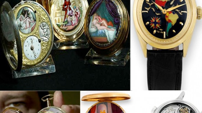 Swiss collector puts up a rare collection of erotic pocket watches on auction