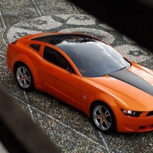 Ford Mustang V8 Exterior