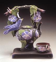 Guild's Bluebird Ceramic Tea Set