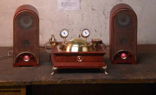 Steampunk CD Player will never become obsolete with its sexy looks